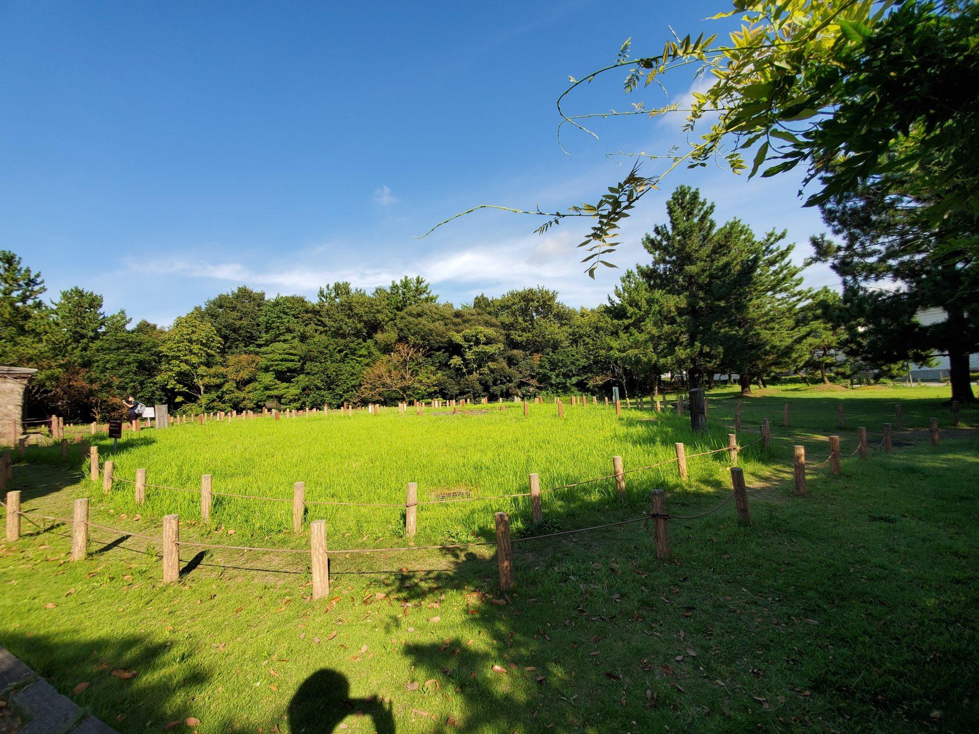 御経塚史跡公園、金沢、公園