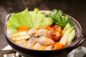 ピリ辛が美味しい牡蠣鍋