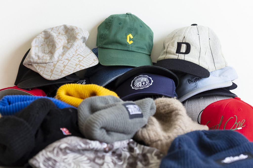 帽子置き場