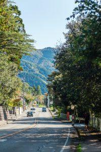 歴史ある上の道「白山比咩神社」