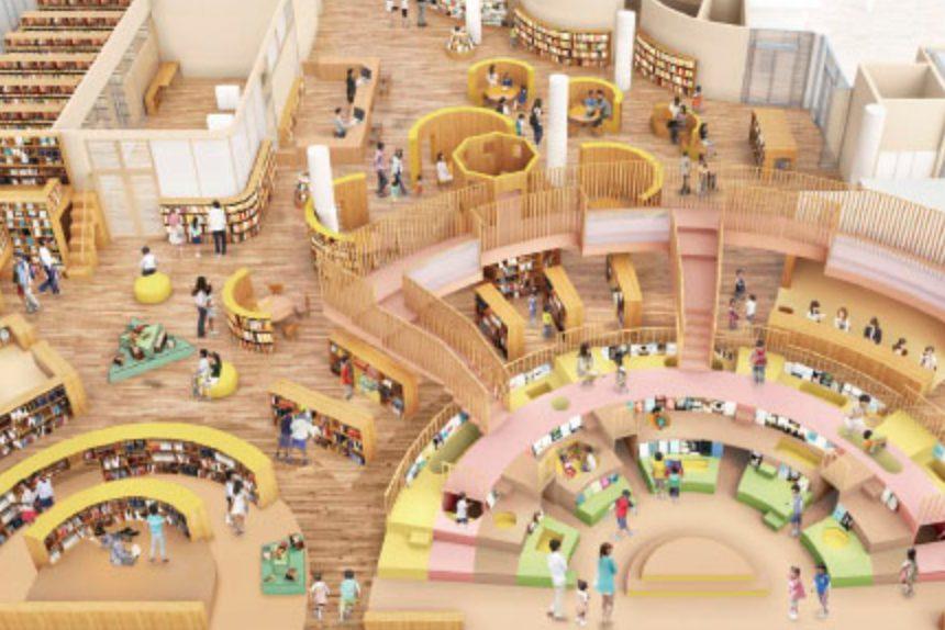 新石川県立図書館